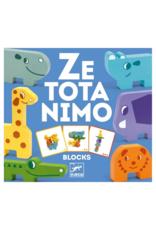 Djeco Ze Totanimo Wooden Animal Stacking Game