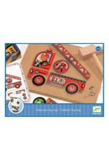 Djeco Vehicles Tap Tap Construction Game