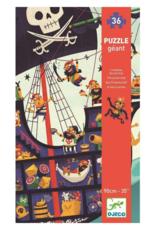 Djeco The Pirate Ship - 36pc Giant Floor Puzzle