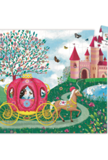 Djeco Silhouette Puzzle 54pc - Elise's Carriage