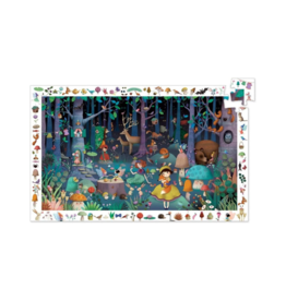Djeco Observation Enchanted Forest - 100pc Puzzle