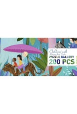 Djeco Children's Walk 200pc Gallery Jigsaw Puzzle + Poster