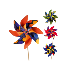 Djeco Spots DIY Pinwheel Craft Kit