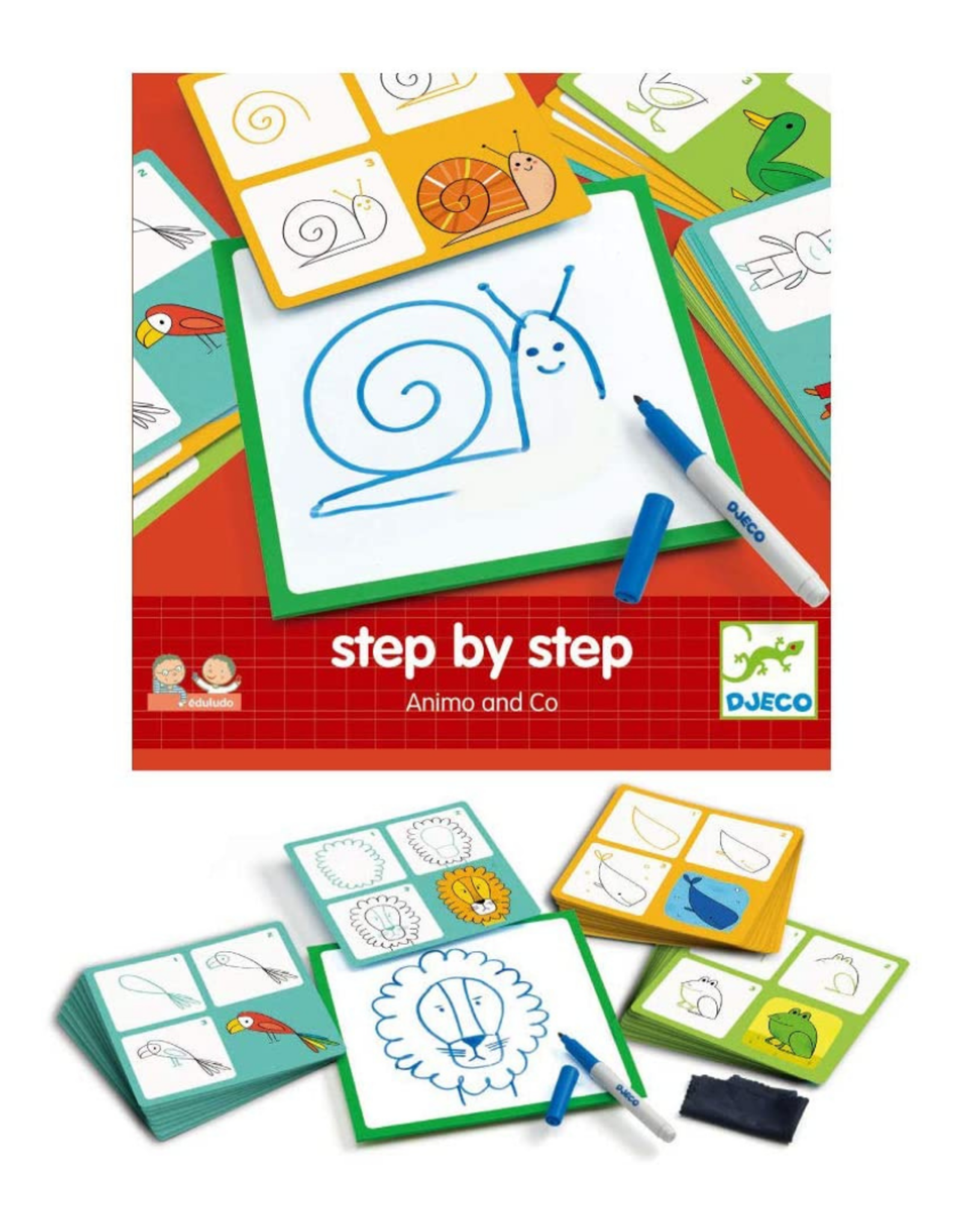 Djeco Step by Step - Animo and Co
