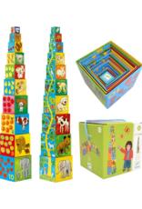 Djeco My Friends - Nest & Stack Blocks