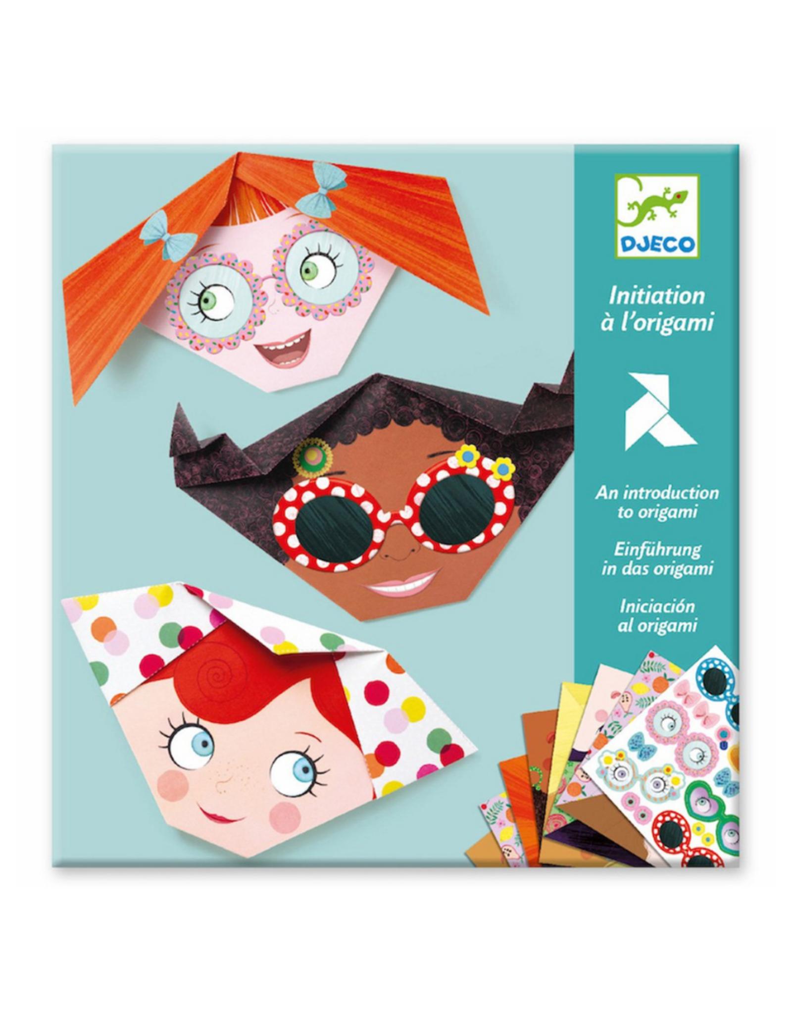 Djeco Djeco Origami - Pretty Faces