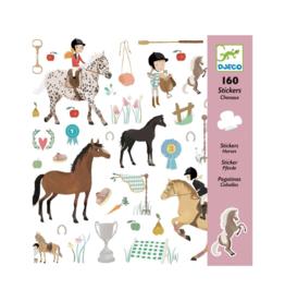 Djeco Djeco 160 Stickers - Horses