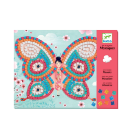 Djeco Butteflies Sticker - Mosaic Craft Kit