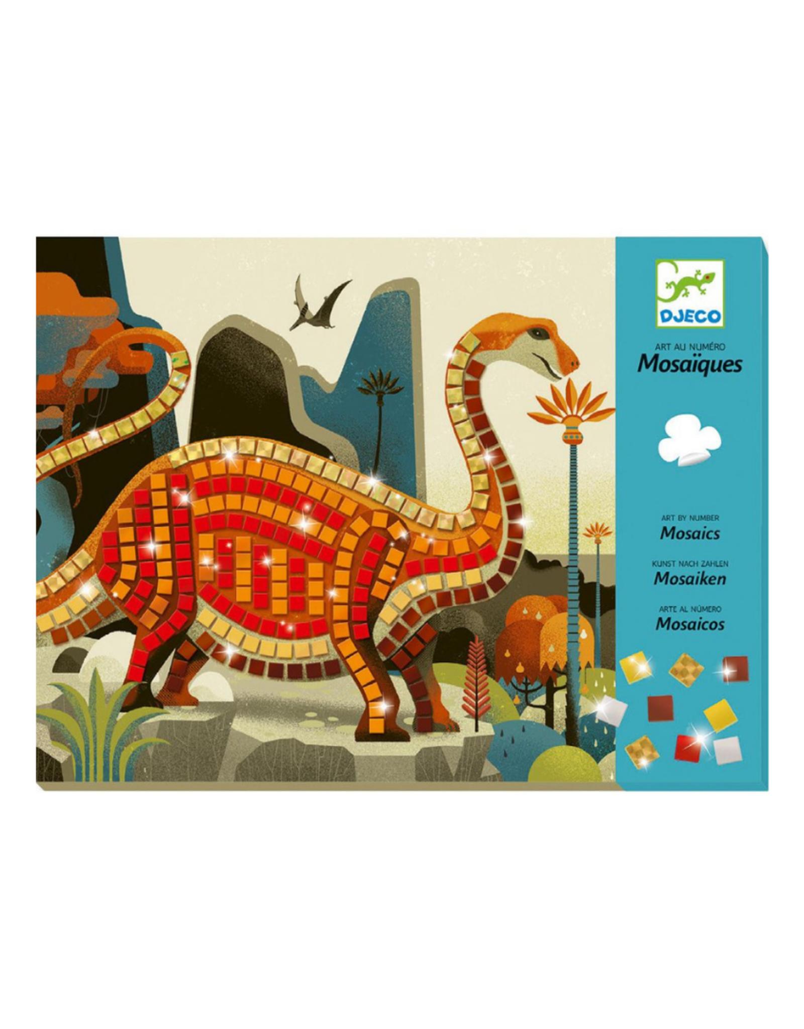 Djeco Dinosaurs Sticker - Mosaic Craft Kit