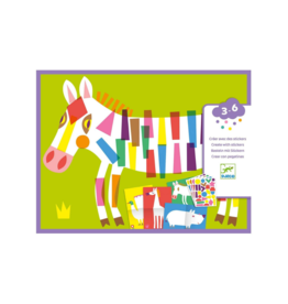 Djeco Djeco Stickers - Large Animal Kit