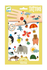 Djeco Pretty Little Things - Temporary Tattoos