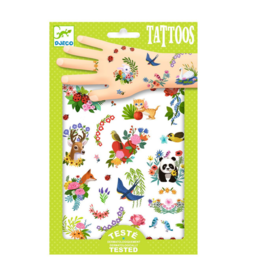 Djeco Happy Spring - Temporary Tattoos