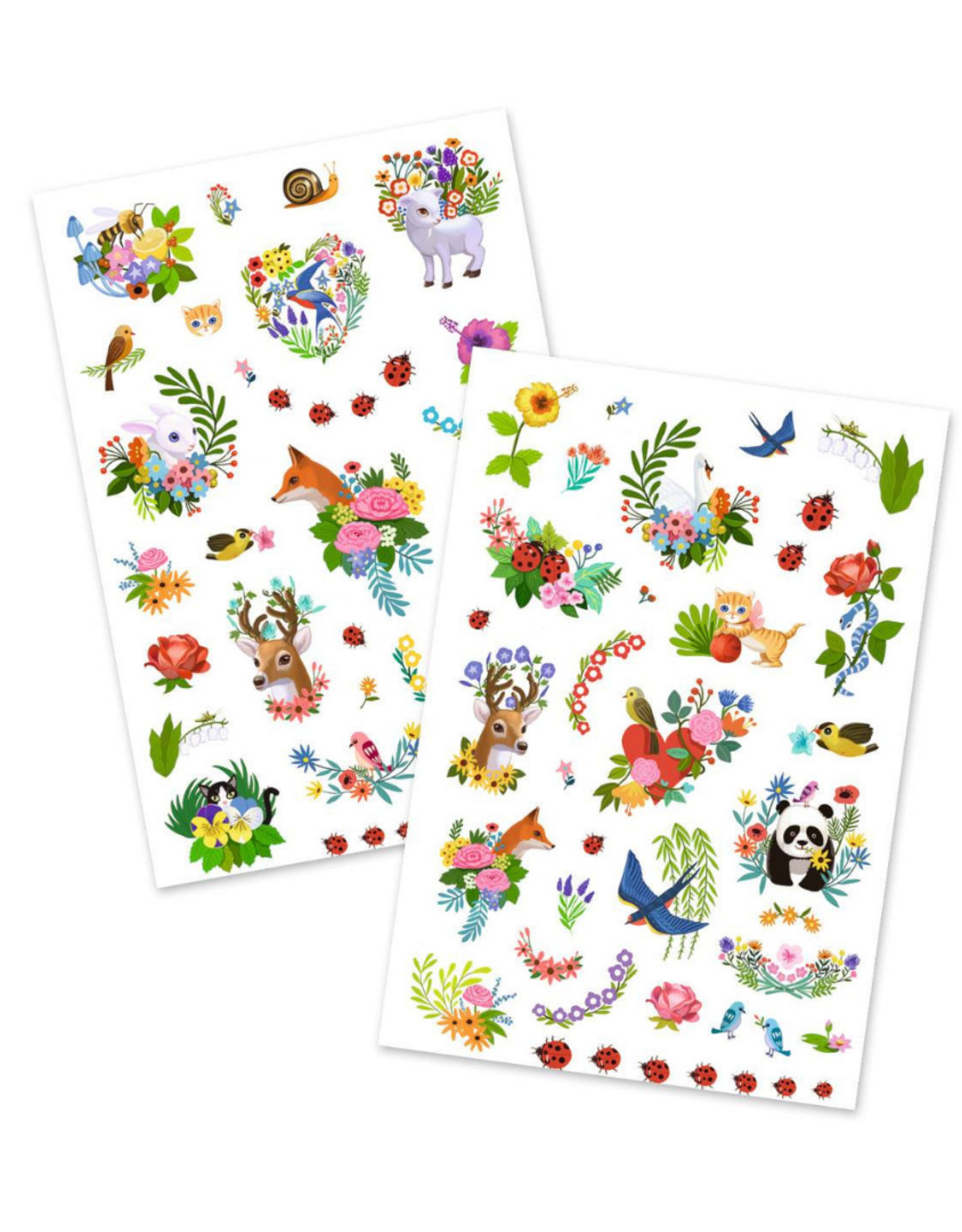 Djeco Happy Spring - Temporary Tattoos