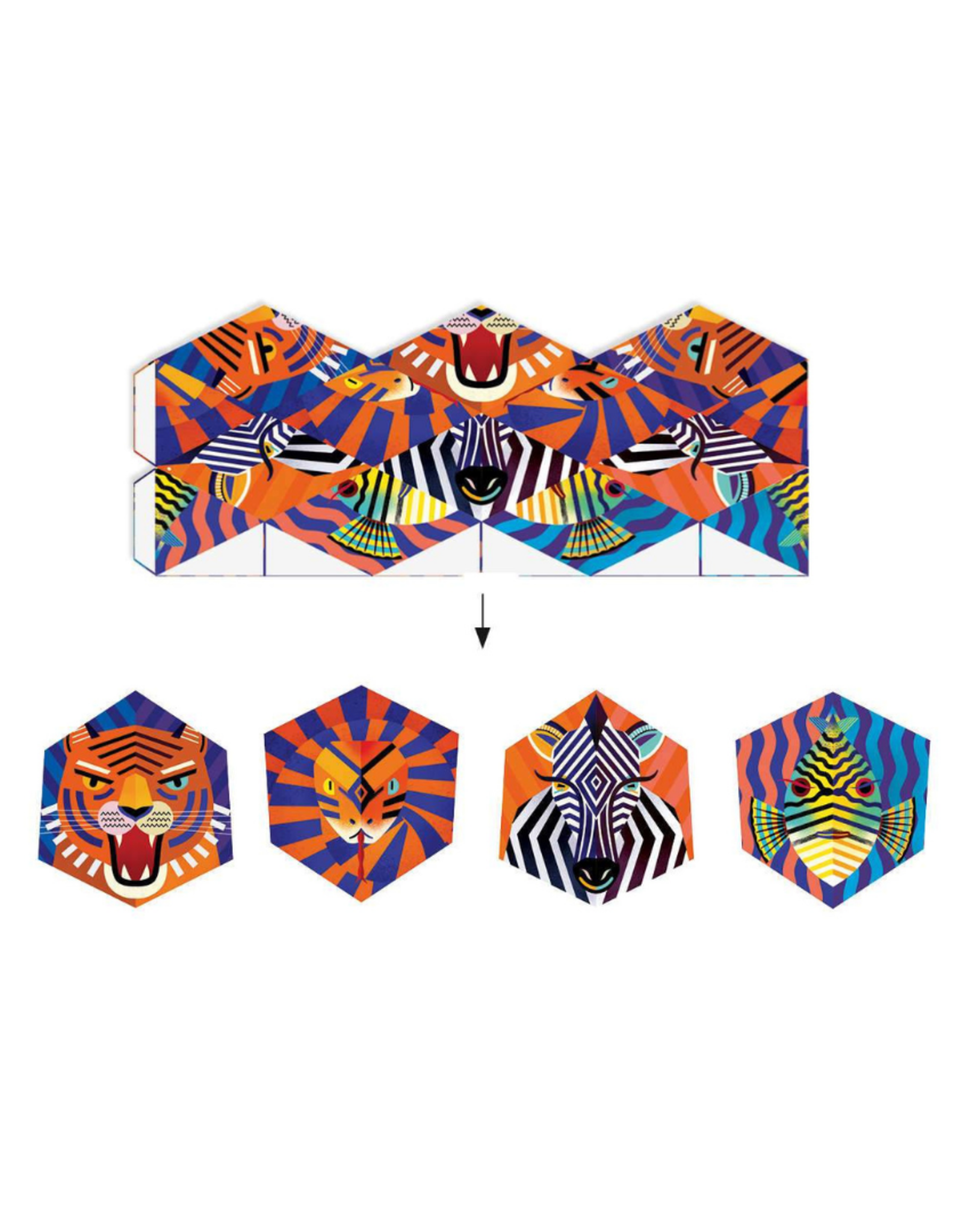 Djeco Origami Flexanimals