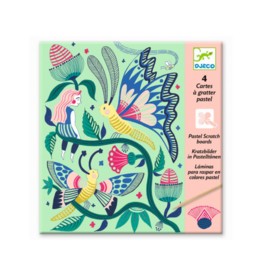 Djeco Fantasy Garden - Scratch Card Activity Set
