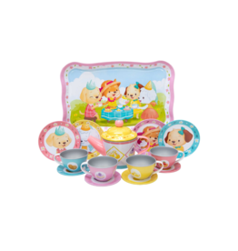 Schylling Tin Tea Set - Puppy Tea Party