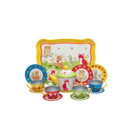 Schylling Tin Tea Set - Forest Friends