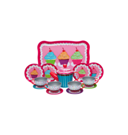 Schylling Tin Tea Set - Cupcake