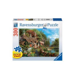 Ravensburger Cottage on a Lake 300pc Puzzle Large Format