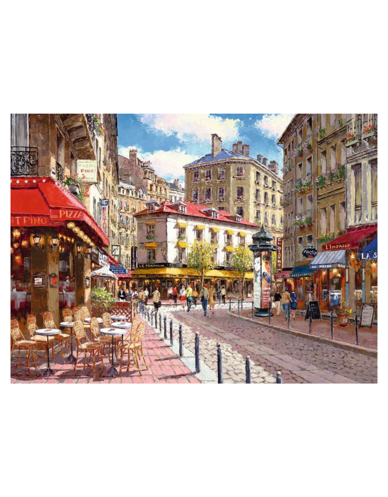 Ravensburger Quaint Shops 500pc Puzzle