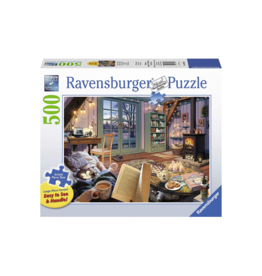 Ravensburger Cozy Retreat 500pc Puzzle