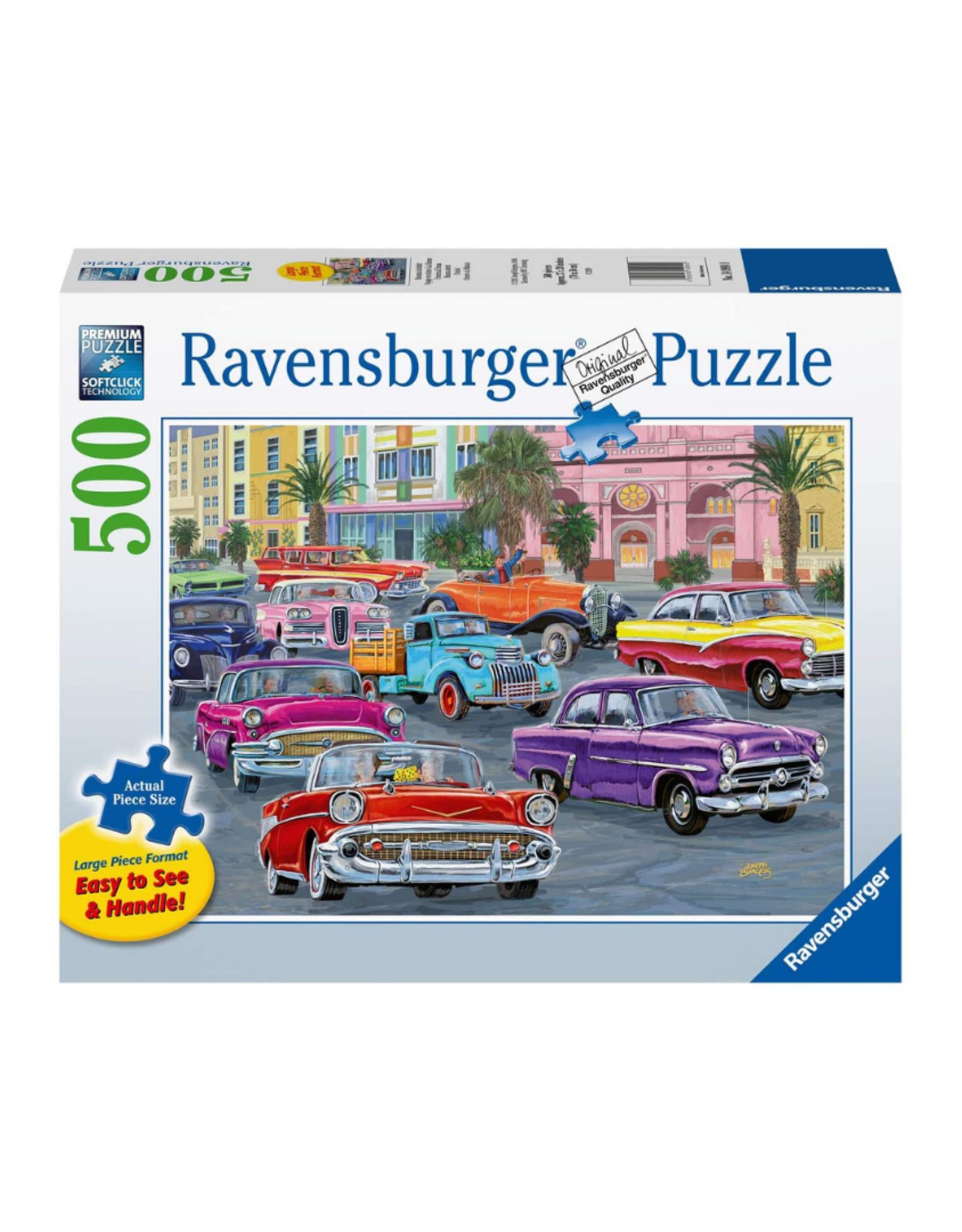 Ravensburger Cruisin 500pc Large Format Puzzle