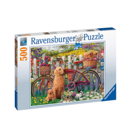Ravensburger Cute Dogs 500pc Puzzle