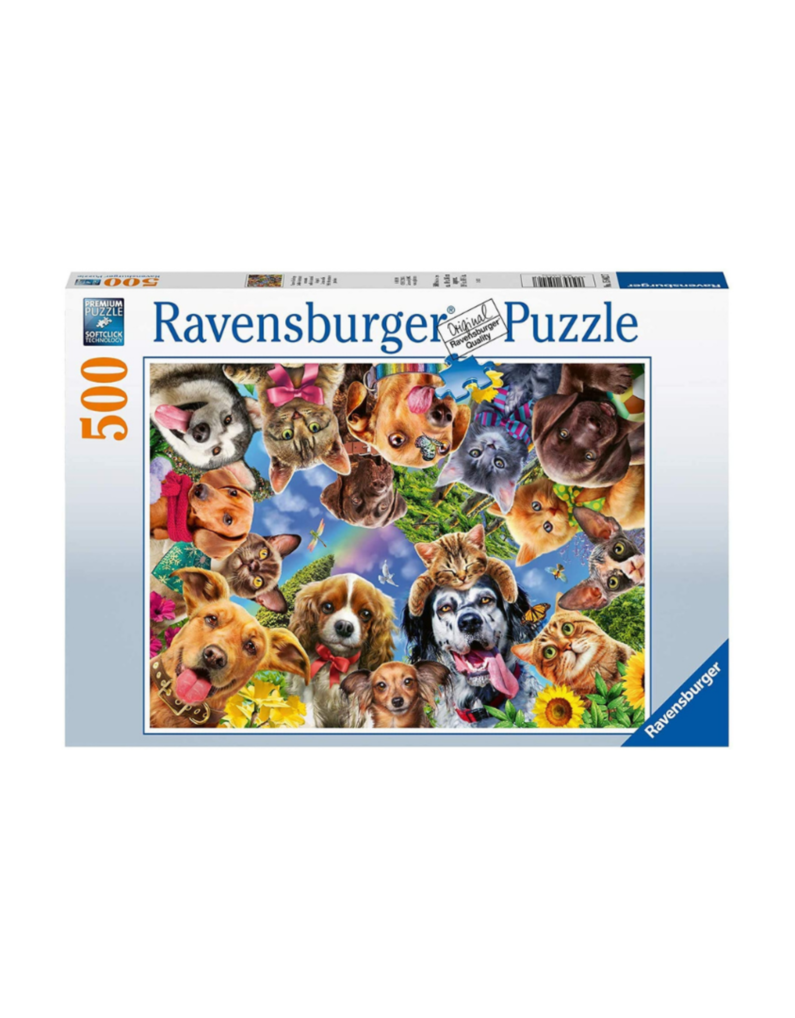 Ravensburger Animal Selfie 500pc Puzzle