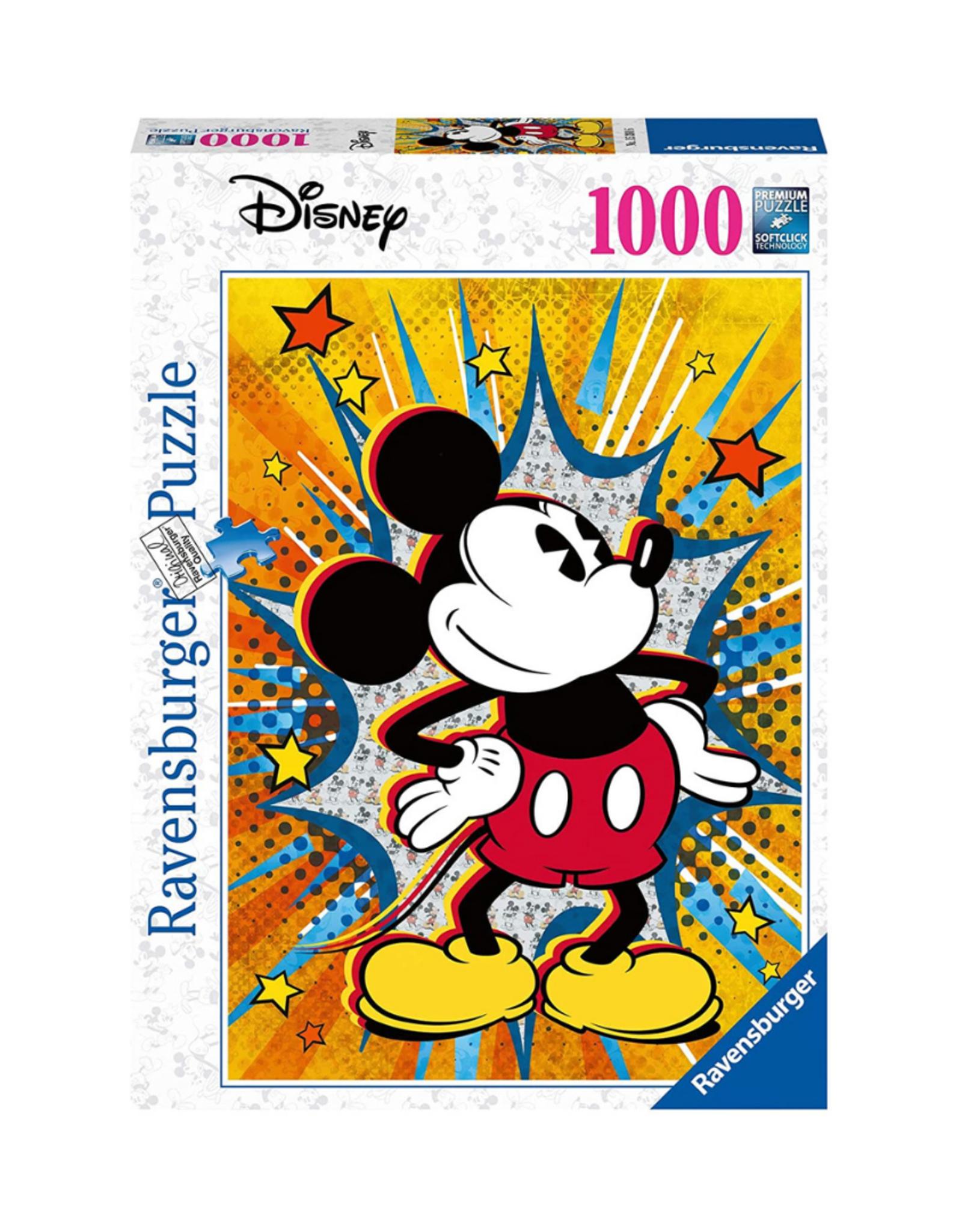 Ravensburger Disney Retro Mickey 1000pc Puzzle
