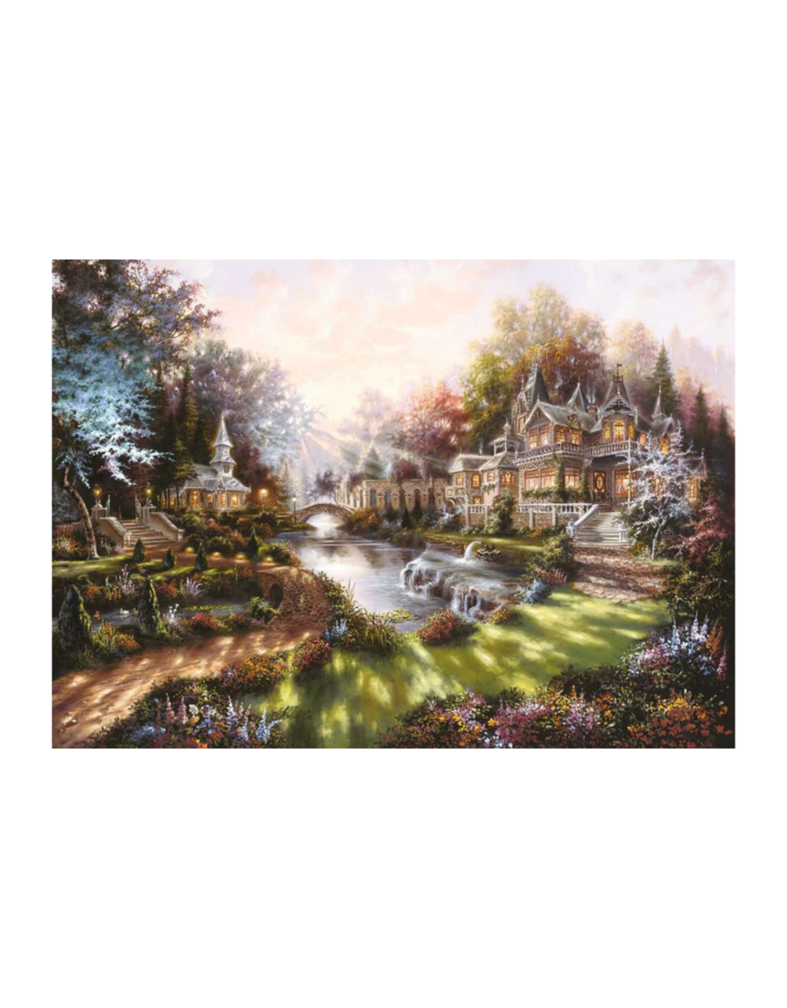Ravensburger Morning Glory 1000pc Puzzle