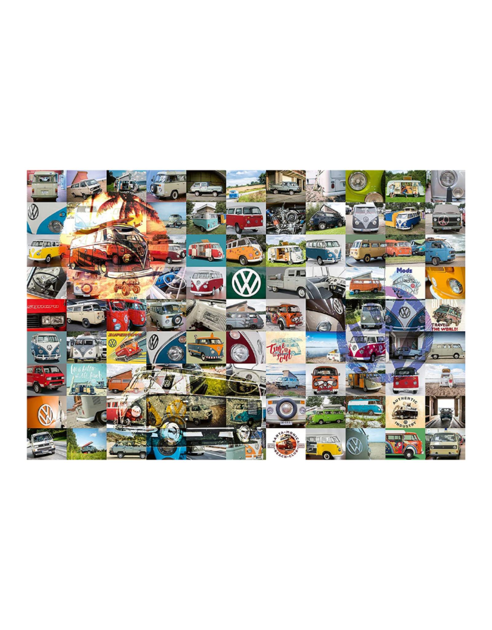 Ravensburger 99 VW Camper Van Moments 3000pc Puzzle