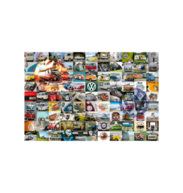 Ravensburger 99 VW Camper Van Moments 3000pc