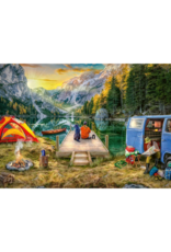 Ravensburger Calm Campsite 1000pc Puzzle