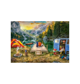 Ravensburger Calm Campsite 1000pc