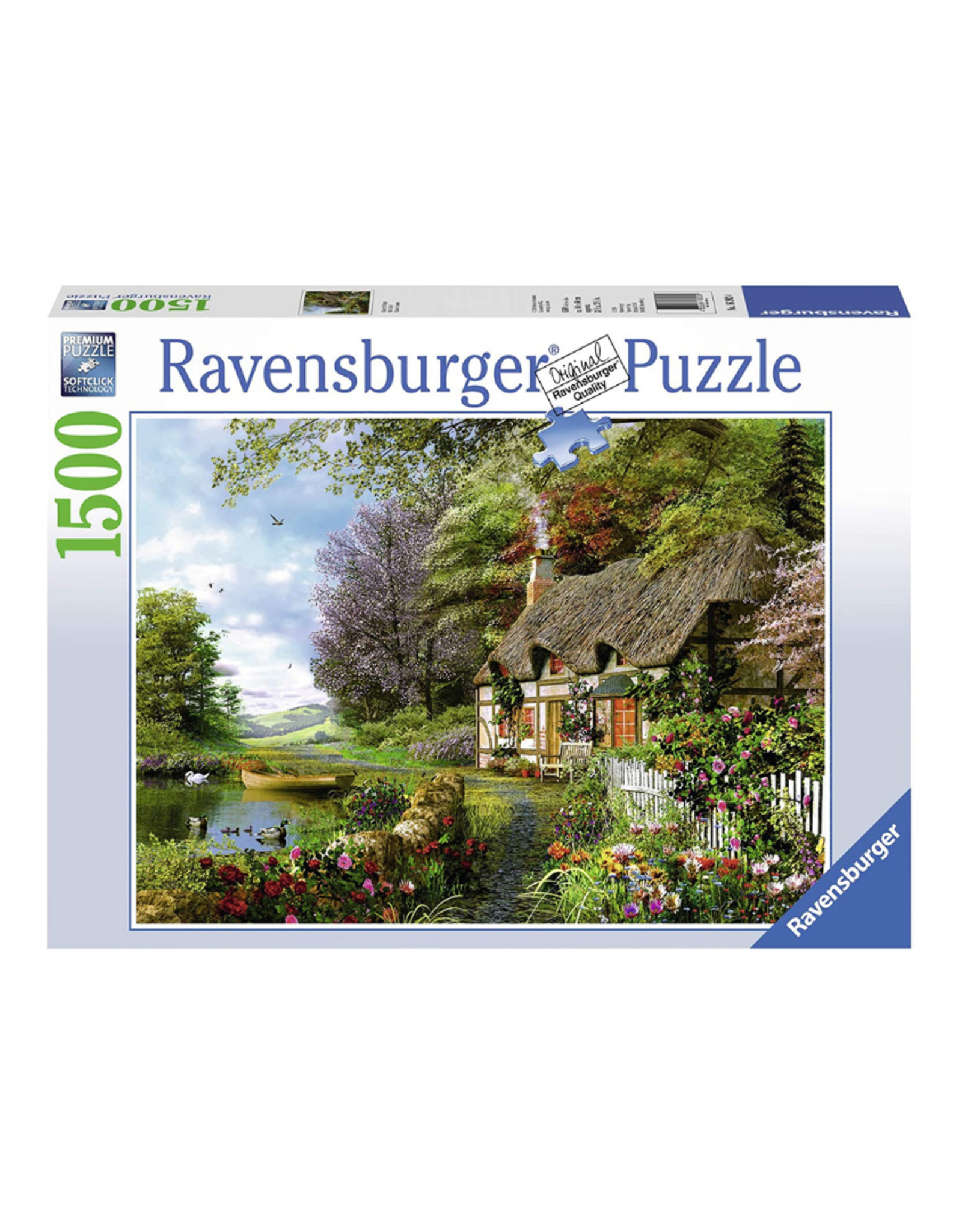 Ravensburger Country Cottage 1500pc Puzzle