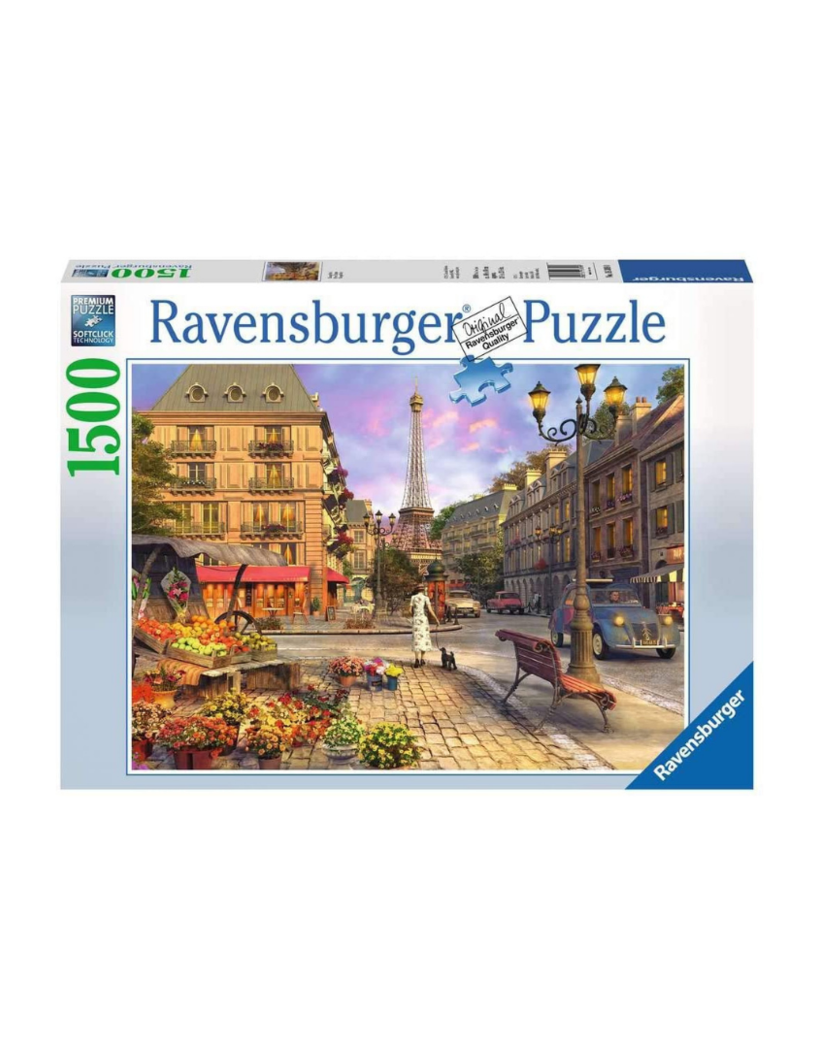 Ravensburger Vintage Paris 1500pc Puzzle