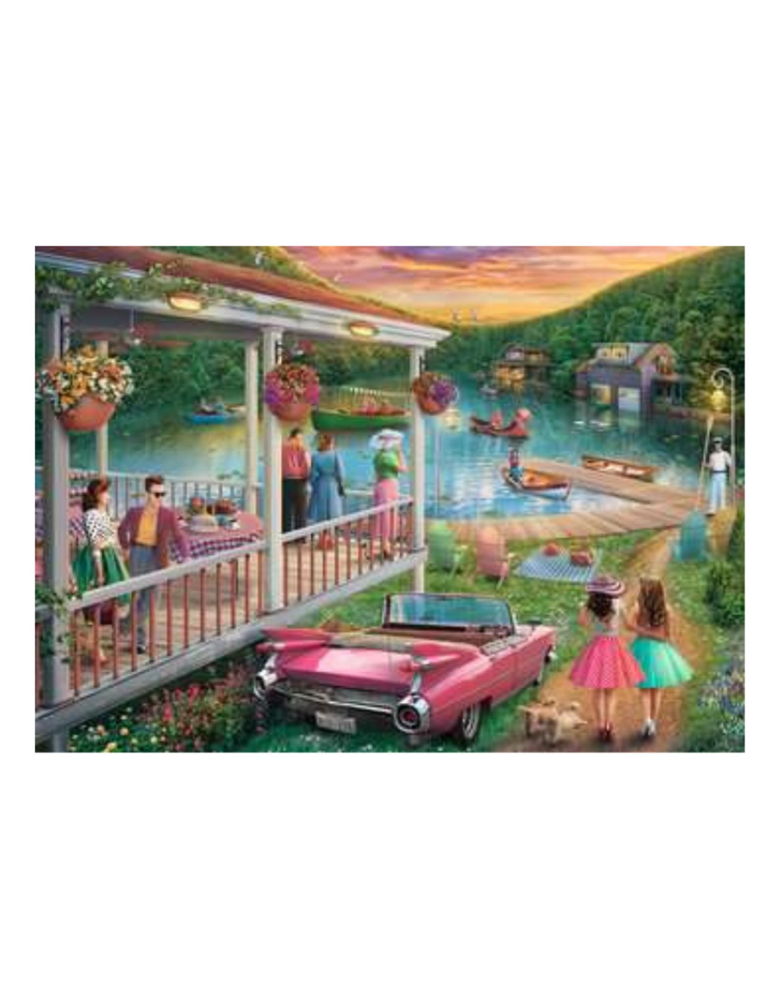 Ravensburger Summer at the Lake 300pc Puzzle Large Format