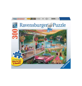 Ravensburger Summer at the Lake 300pc Puzzle Large Format