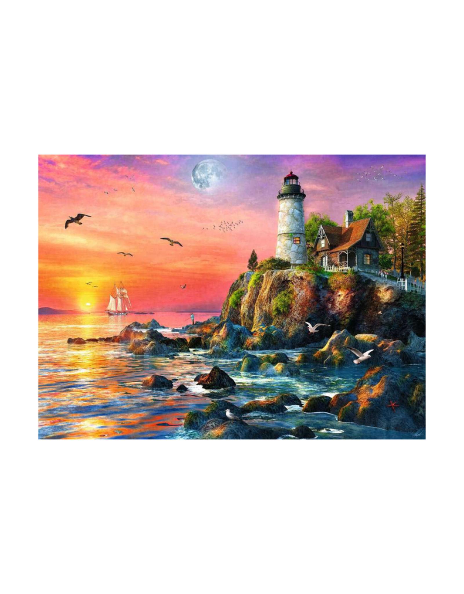 Ravensburger Lighthouse at Sunset 500pc Puzzle