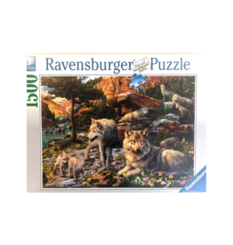 Ravensburger Wolf Wilderness 1500pc Puzzle