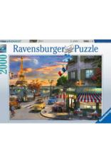 Ravensburger Paris Sunset 2000pc Puzzle