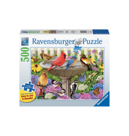Ravensburger At the Birdbath 500pc Puzzle Large Format