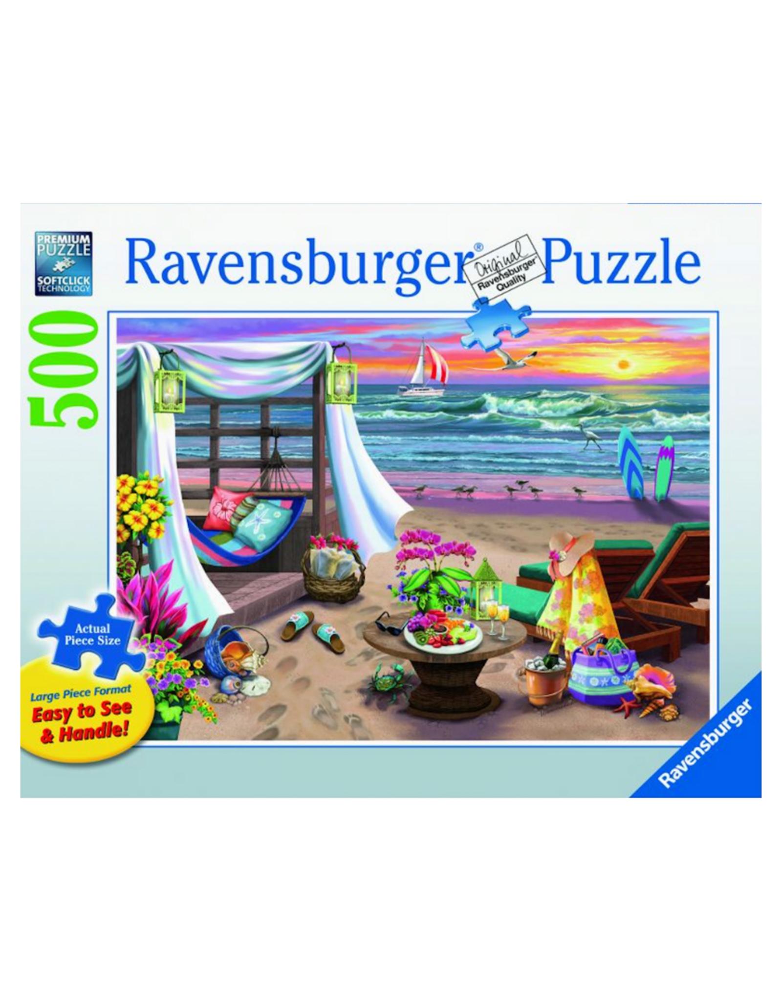 Ravensburger Cabana Retreat 500pc Puzzle Large Format