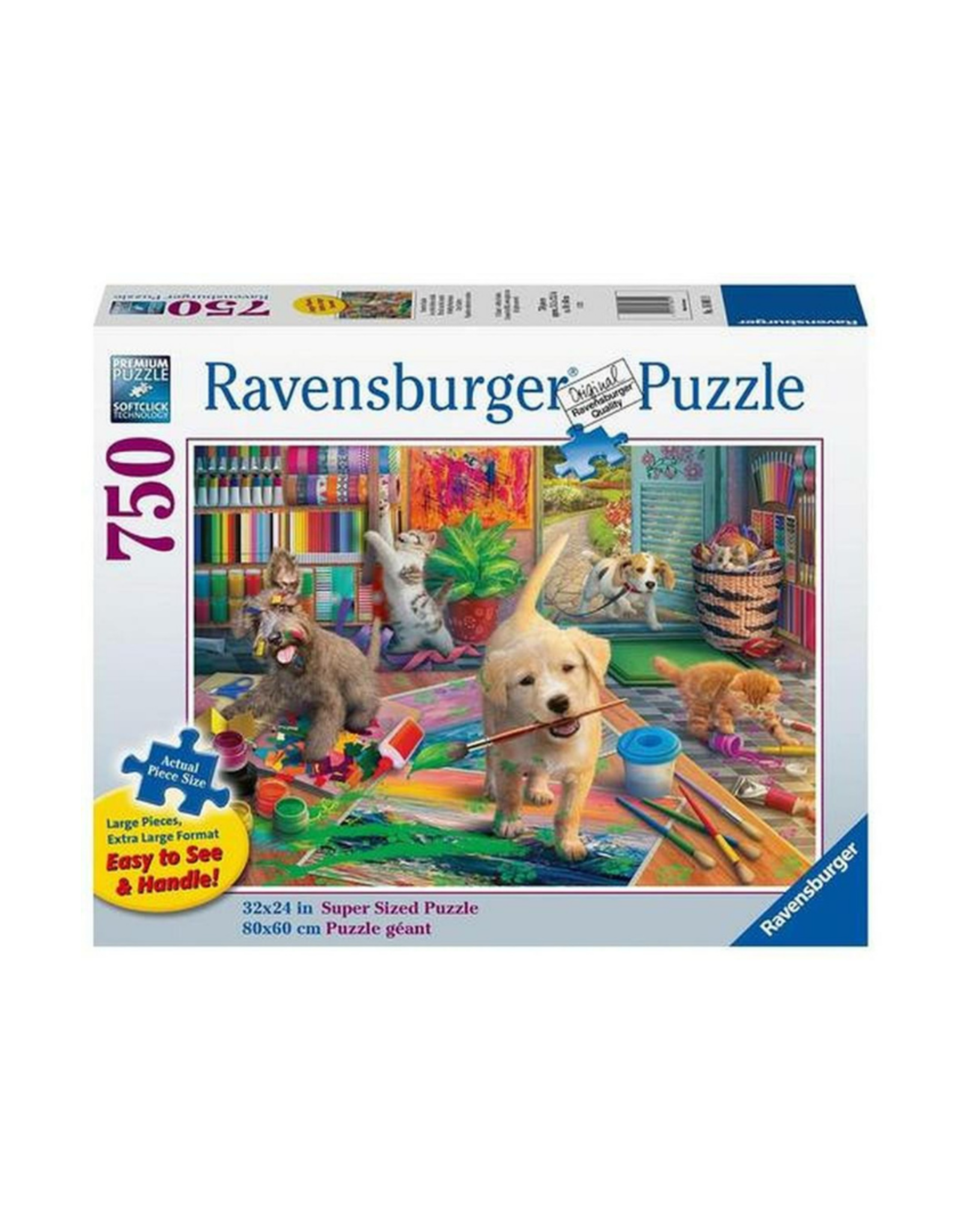 Ravensburger Cute Crafters 750pc Large Format Puzzle
