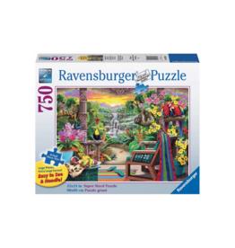 Ravensburger Tropical Retreat 750pc Puzzle Large Format