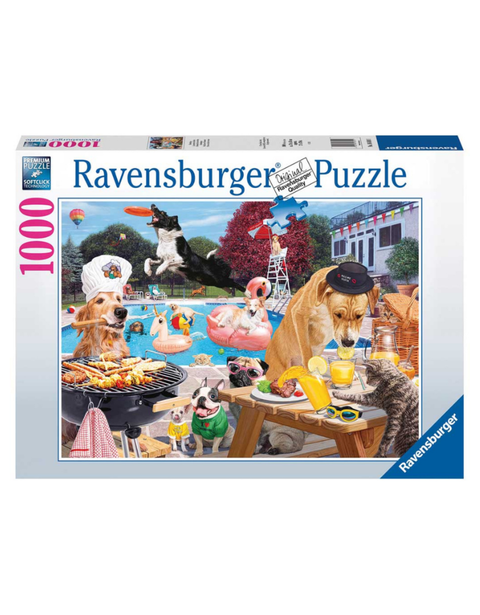 Ravensburger Dog Days of Summer 1000pc Puzzle