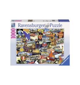 Ravensburger Road Trip USA 1000pc Puzzle