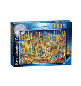 Ravensburger World Landmarks at Night 1000pc Puzzle
