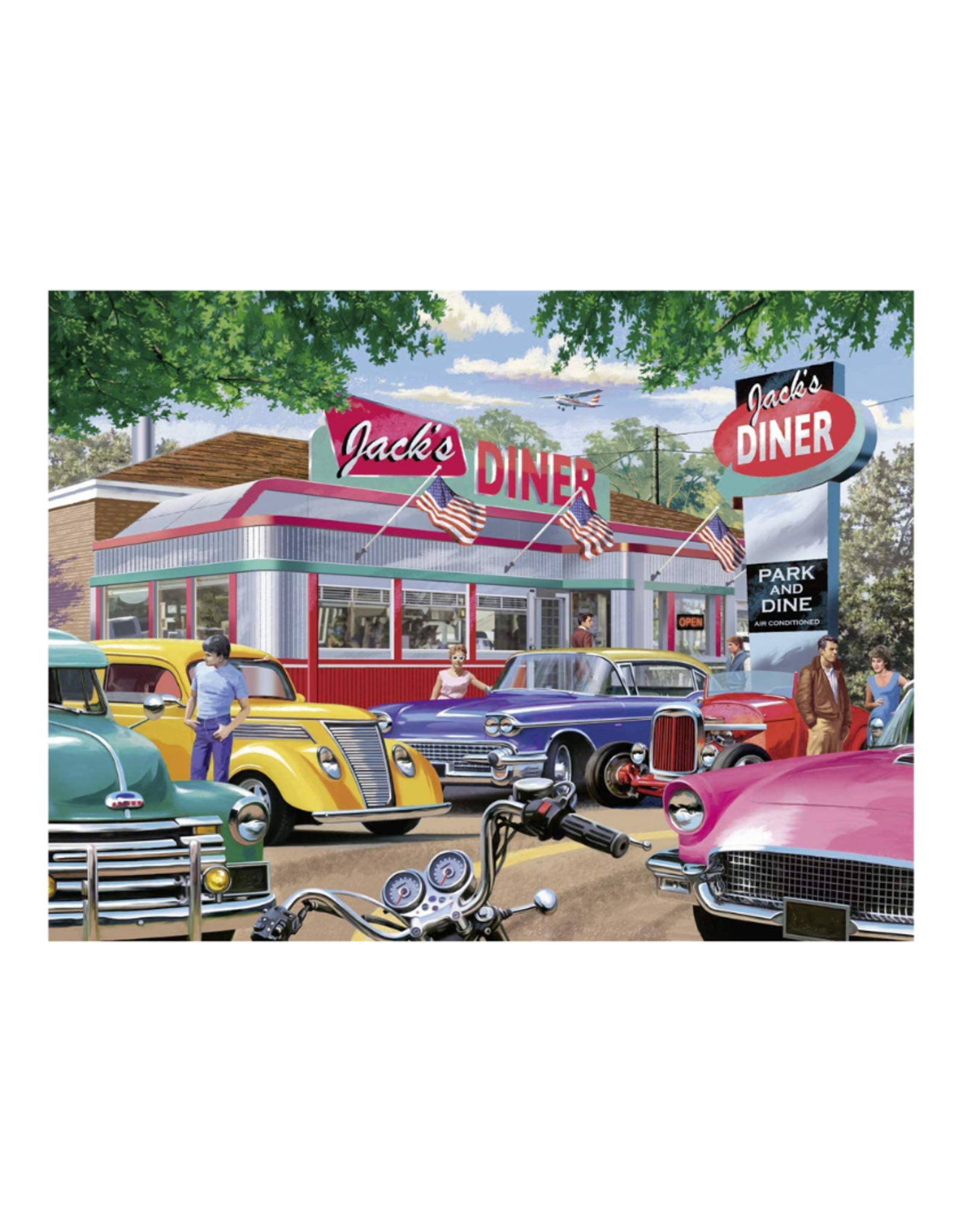 Ravensburger Meet You at Jack's 750pc Puzzle Large Format