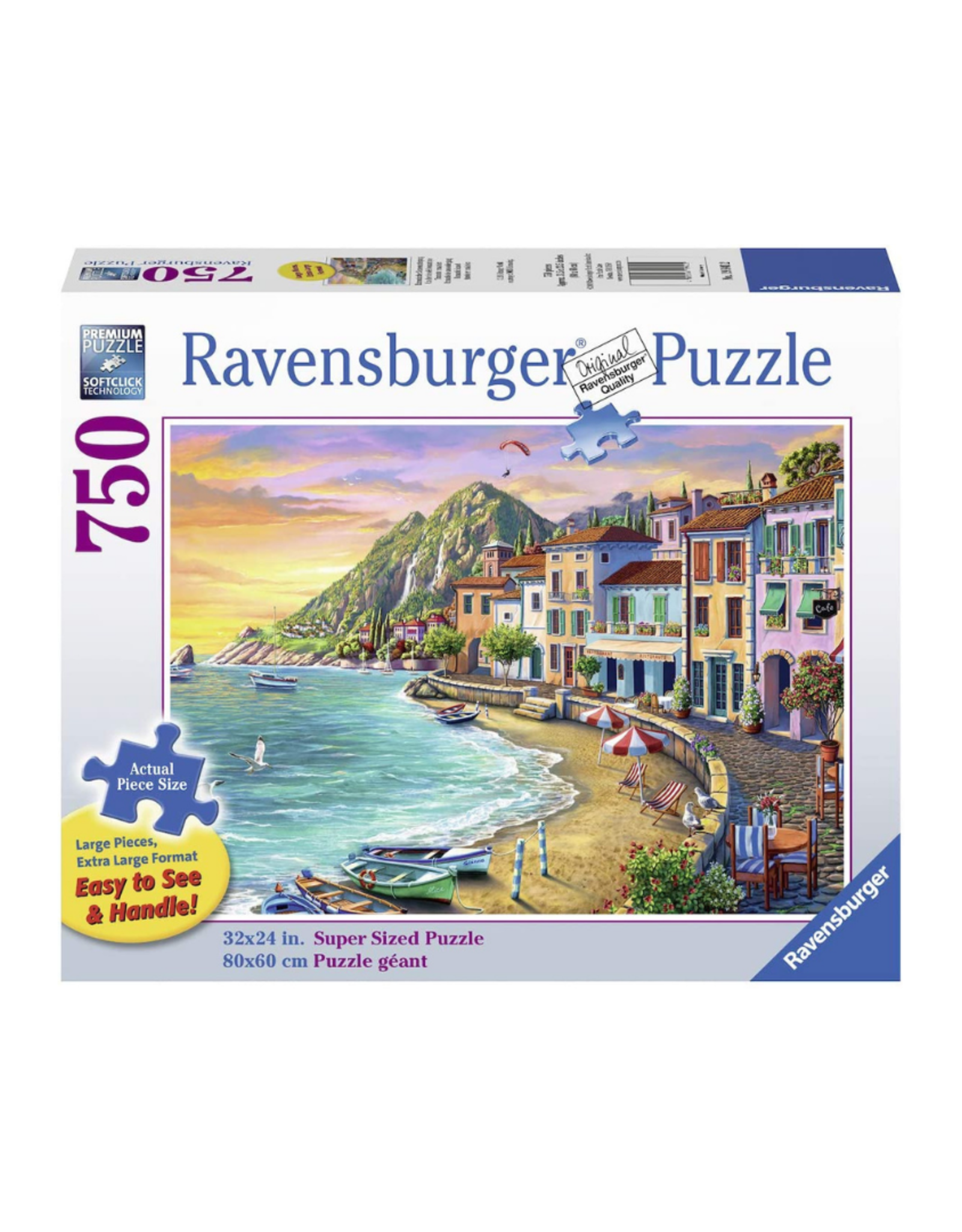 Ravensburger Romantic Sunset 750pc Puzzle Large Format